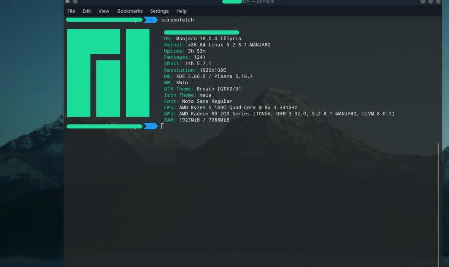 Mein Wechsel zu Linux (Manjaro)